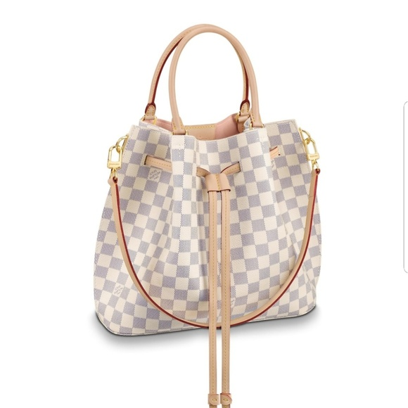 b81dbd4fe517 Louis Vuitton Handbags - Girolata Damier Azur canvas Louis Vuitton